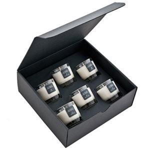Coffret de 6 Bougies Parfumées