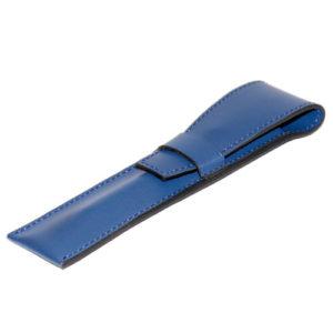 Mini etui stylo en cuir