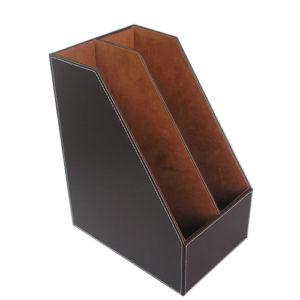 Porte revue en cuir