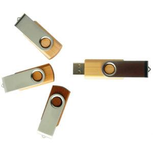 Clé usb bois personnalisable «Twister bois»