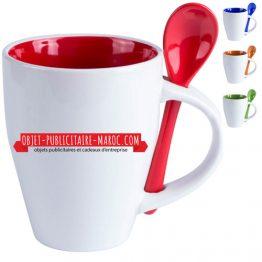 mug cafe publicitaire personnalise maroc