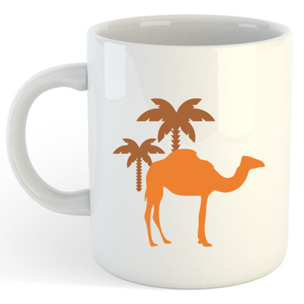 mug maroc chameau